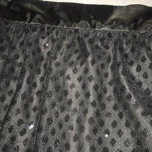 Wet Seal Skirts - Sequenced / Satin Mini skirt